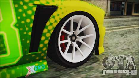 GTA 5 Bravado Buffalo Sprunk для GTA San Andreas вид сзади слева