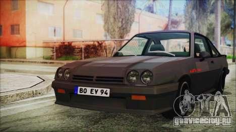 Opel Manta GSi Exclusive для GTA San Andreas