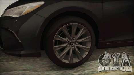 Toyota Camry для GTA San Andreas вид сзади слева