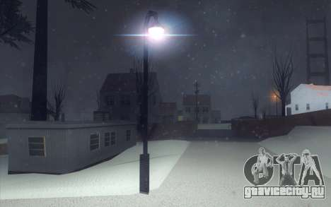 Winter Vacation 2.0 SA-MP Edition для GTA San Andreas девятый скриншот