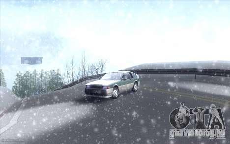 Winter Vacation 2.0 SA-MP Edition для GTA San Andreas седьмой скриншот