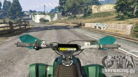 PURE Quad для GTA 5 вид сзади справа