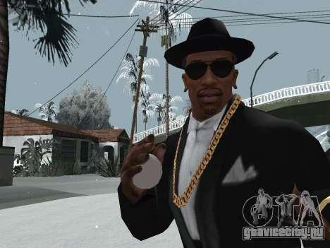 Метание снежка для GTA San Andreas