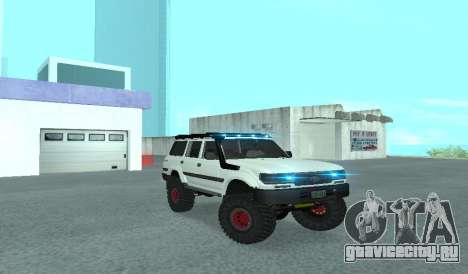 Toyota Autana 4500 off-road LED для GTA San Andreas