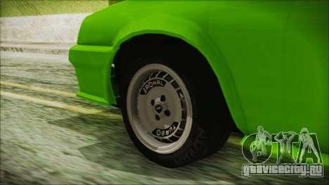 Opel Manta New Kids HQ для GTA San Andreas вид сзади слева