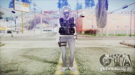 Rainbow Six Siege GSG9 IQ для GTA San Andreas второй скриншот