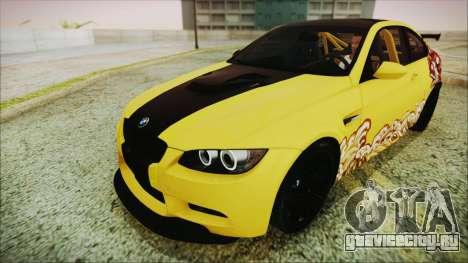 BMW M3 GTS 2011 IVF для GTA San Andreas двигатель