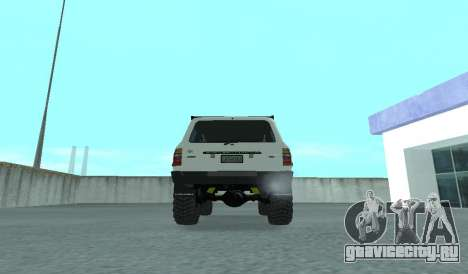 Toyota Autana 4500 off-road LED для GTA San Andreas вид справа
