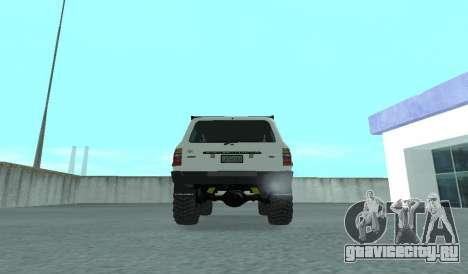 Toyota Autana 4500 off-road LED для GTA San Andreas вид справа