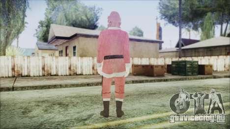 GTA 5 Santa Афроамериканец для GTA San Andreas третий скриншот