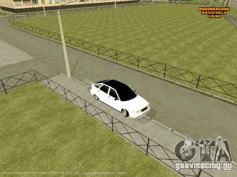 Ваз 2112 Бункер 0.2v для GTA San Andreas вид сзади слева