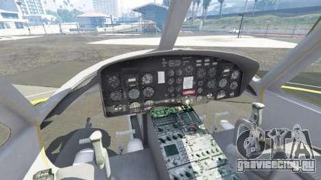 Bell UH-1D Iroquois Huey Gunship для GTA 5 пятый скриншот