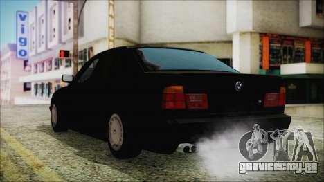 BMW 525i E34 1992 для GTA San Andreas вид слева