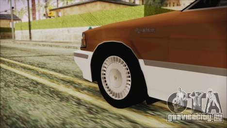 Toyota Crown Royal Saloon 1994 для GTA San Andreas вид сзади слева