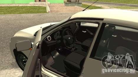 Lada Kalina 2 - Granta для GTA San Andreas вид сзади слева