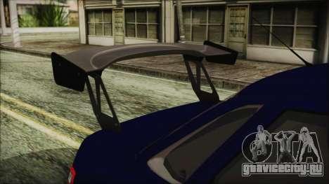 ВАЗ 2110 Спорт для GTA San Andreas вид сзади
