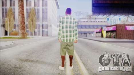 GTA 5 Grove Gang Member 2 для GTA San Andreas третий скриншот