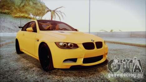 BMW M3 GTS 2011 IVF для GTA San Andreas