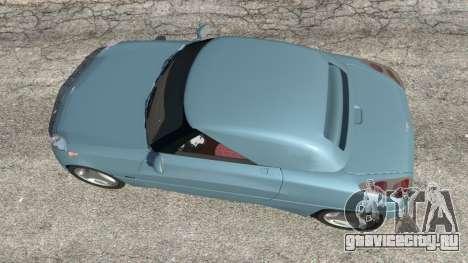 Daewoo Joyster Concept 1997 v1.2 для GTA 5 вид сзади
