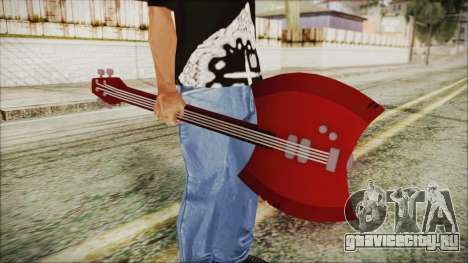 Axe Bass Marceline from Adventure Time для GTA San Andreas