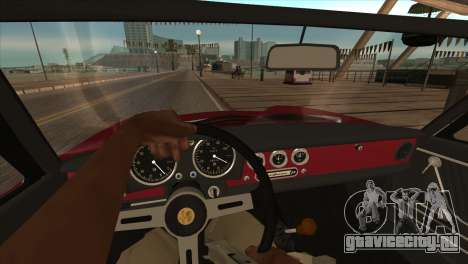 1966 Alfa Romeo Spider Duetto [IVF] для GTA San Andreas вид сзади
