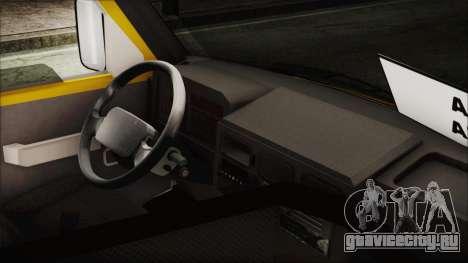 Iveco Turbo Daily Flota Valle De Tenza для GTA San Andreas вид сзади слева