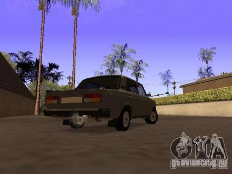 ВАЗ 2107 by Liksan v0.3 для GTA San Andreas вид слева