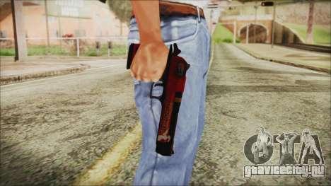 Xmas Desert Eagle для GTA San Andreas третий скриншот