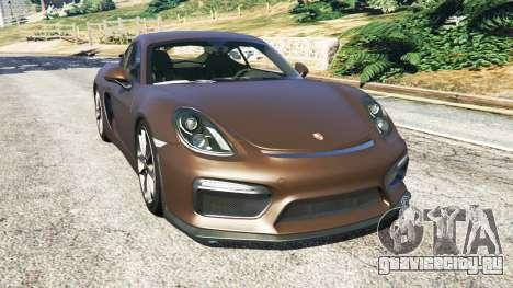 Porsche Cayman GT4 2016 v1.1 для GTA 5