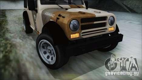 GTA 5 Canis Crusader IVF для GTA San Andreas вид справа
