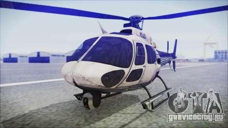 Batman Arkham Knight Police-Swat Helicopter для GTA San Andreas