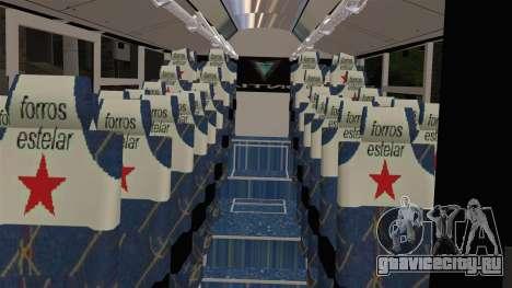 Lazcity Midibus Stylo Colombia для GTA San Andreas вид справа