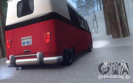Winter Vacation 2.0 SA-MP Edition для GTA San Andreas шестой скриншот