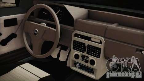 Fiat Uno Fire Tuning для GTA San Andreas вид справа