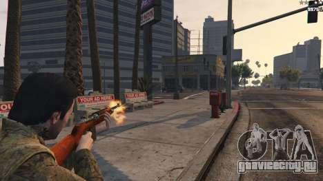 .30 Cal M1 Carbine Rifle для GTA 5 третий скриншот