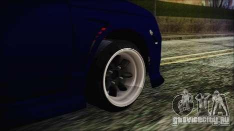 ВАЗ 2110 Спорт для GTA San Andreas вид сзади слева