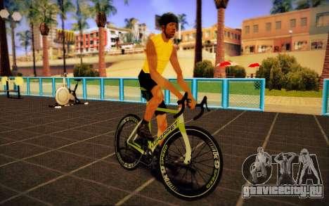GTA 5 Whippet Race Bike для GTA San Andreas вид сзади слева