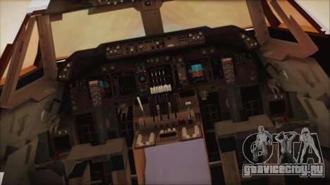 Boeing 747-237Bs Air India Krishna Deva Raya для GTA San Andreas вид сзади