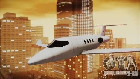 Enterable Customized Shamal для GTA San Andreas