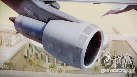 Boeing 747-128B Air France для GTA San Andreas вид справа