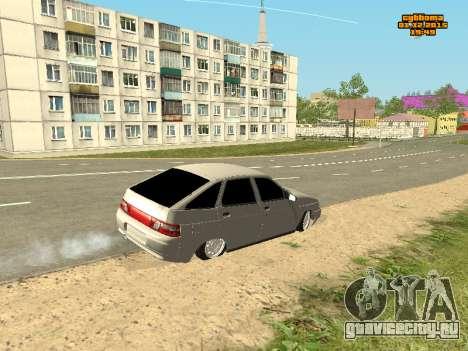Ваз 2112 Бункер 0.1v для GTA San Andreas вид справа
