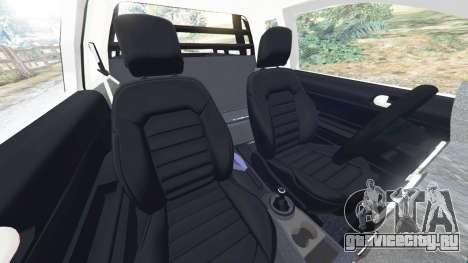 Volkswagen Saveiro G6 Cross для GTA 5 вид справа