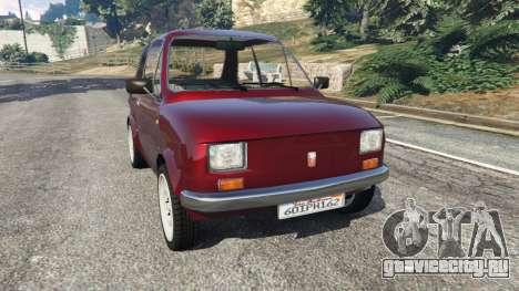 Fiat 126p v1.2 для GTA 5