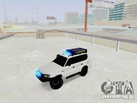 Toyota Land Cruiser Prado off-road LED для GTA San Andreas