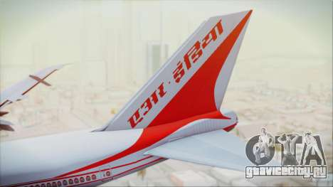 Boeing 747-237Bs Air India Akbar для GTA San Andreas вид сзади слева