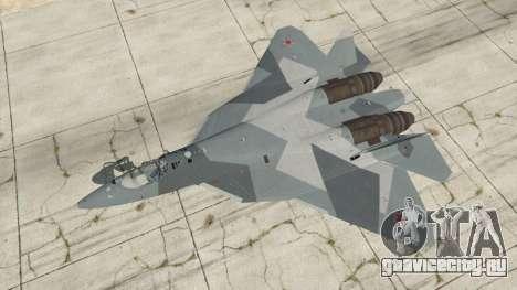 Т-50 ПАК ФА v0.02 для GTA 5 четвертый скриншот
