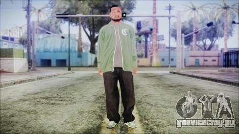 GTA 5 Grove Gang Member 1 для GTA San Andreas второй скриншот