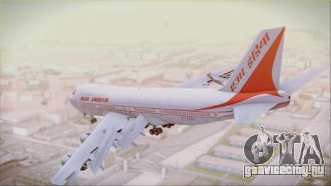 Boeing 747-237Bs Air India Akbar для GTA San Andreas вид слева