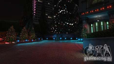 Новогодние украшения для дома Майкла для GTA 5 третий скриншот