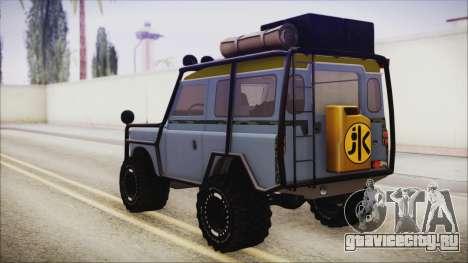 Land Rover Series 3 Off-Road для GTA San Andreas вид слева